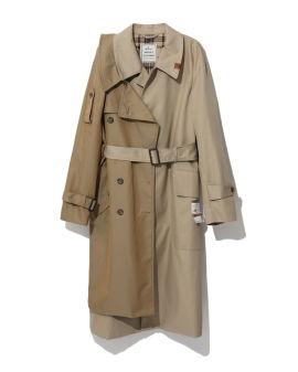 Deconstructed trench coat
