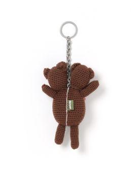 Double-headed Teddy keychain