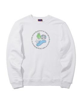 Dystopia print hoodie