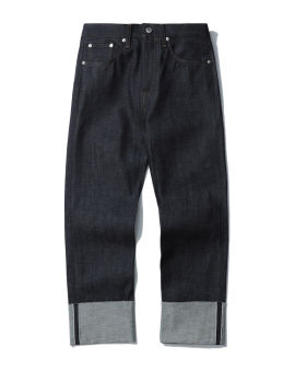 Panelled jeans
