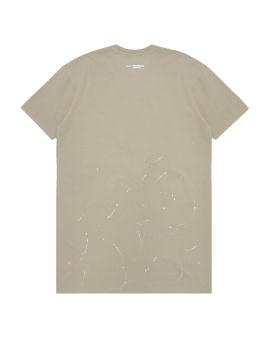Splatter print t-shirt dress