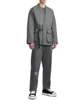 Buckle kimono jacket