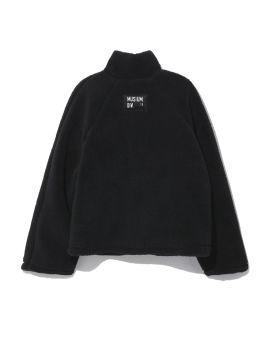 Fleece zip sweater