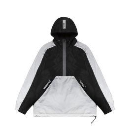 Colour block anorak jacket