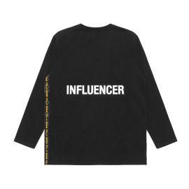 Influencer logo tape tee