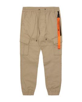 Strap cargo pants