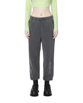Logo embroidered pants