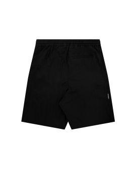 Drawstring logo print shorts