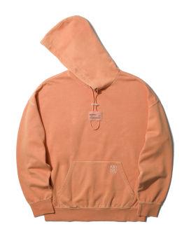 Drawcord detail hoodie
