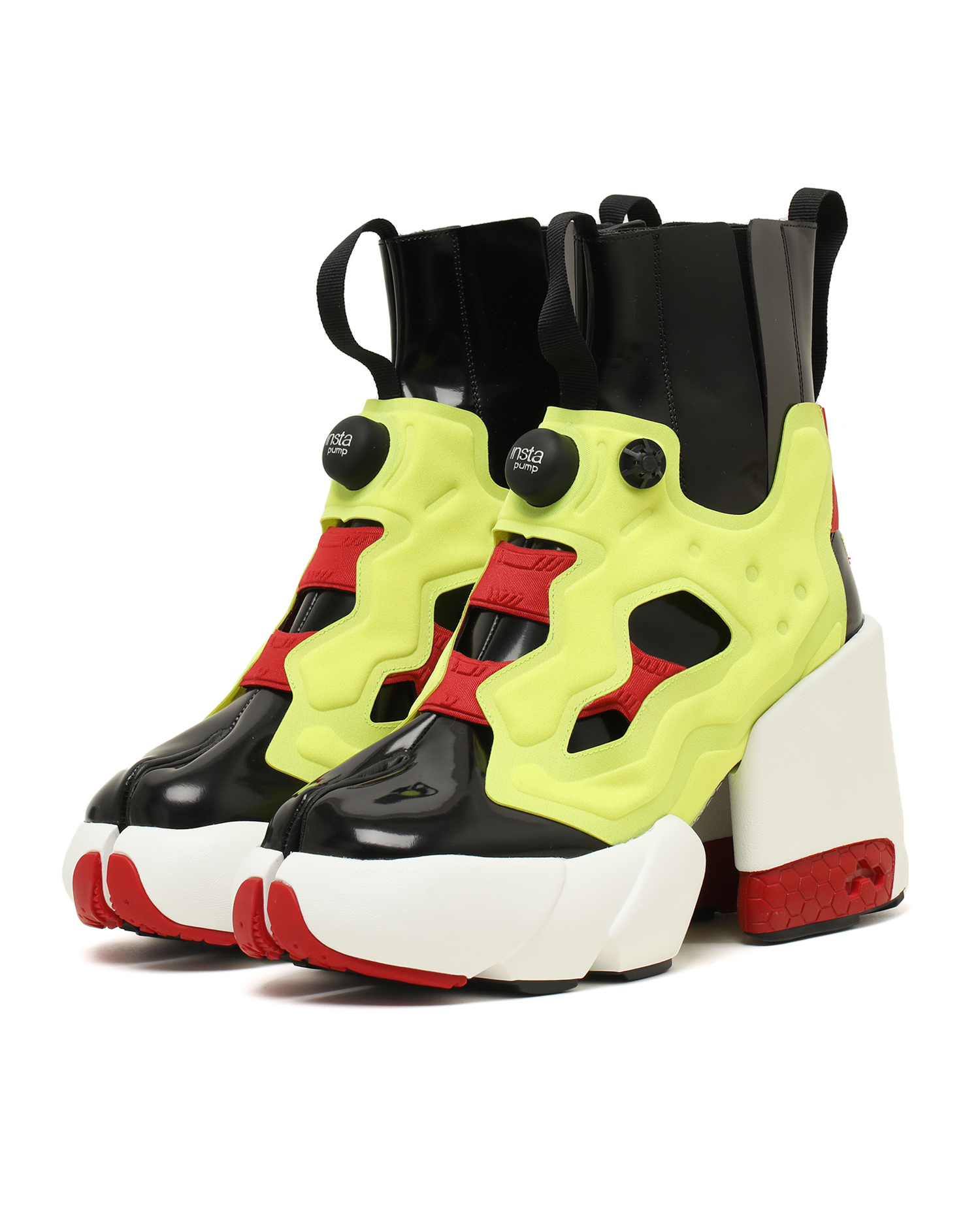 X Reebok Instapump Fury Ankle Boots