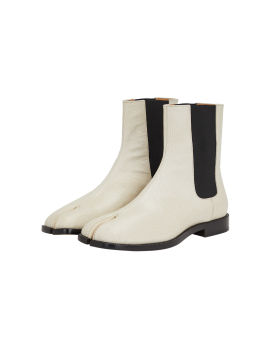 Tabi leather chelsea boots
