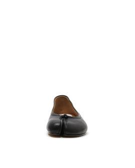 Tabi split toe leather ballerina flats
