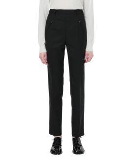 Double zip skinny pants
