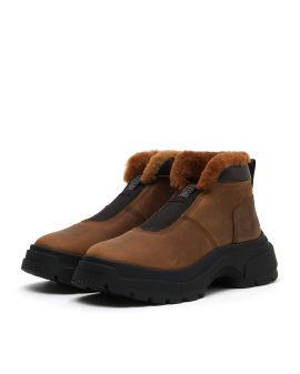 Shearling sneakers