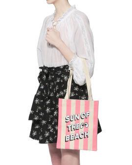"""Sun of the Beach"" cotton tote bag"
