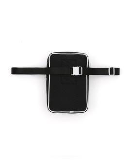 Logo print belt pouch