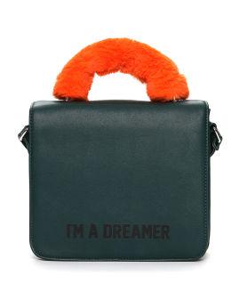 """I'M A DREAMER"" shoulder bag"