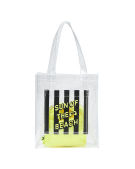 """Sun of the Beach"" plastic tote bag"