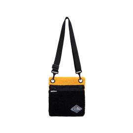 Colour block sacoche bag