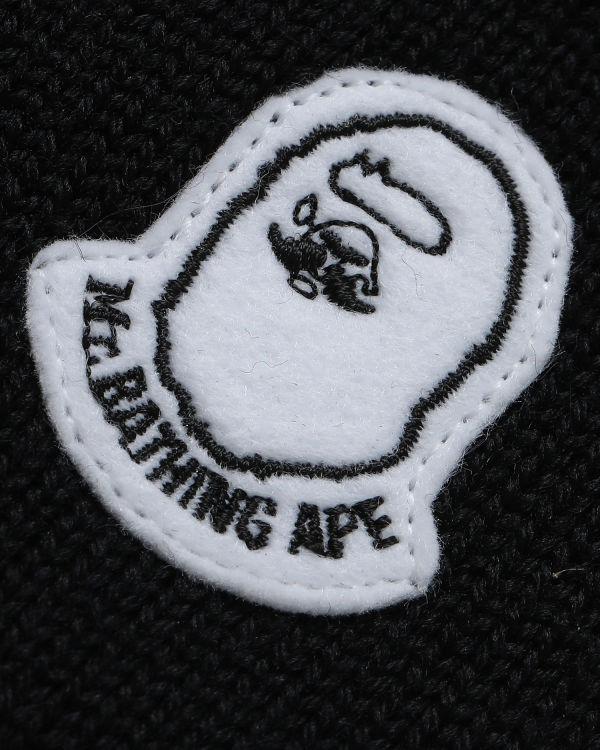 Ape Head badge beanie
