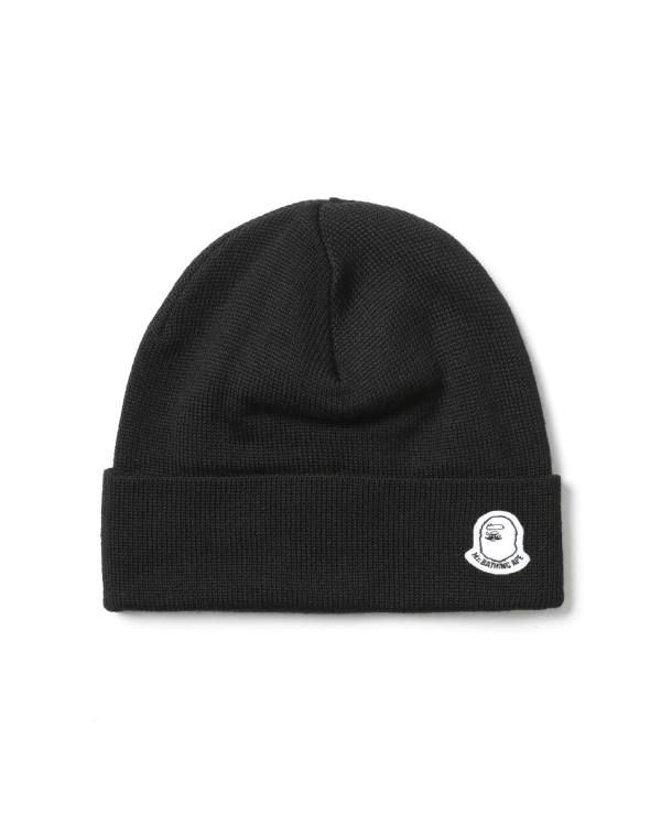 Ape Head badge beanie