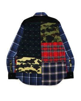 Flannel Check Multi Patter Shirt