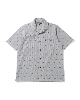 Mr Pattern Seersucker Open shirt