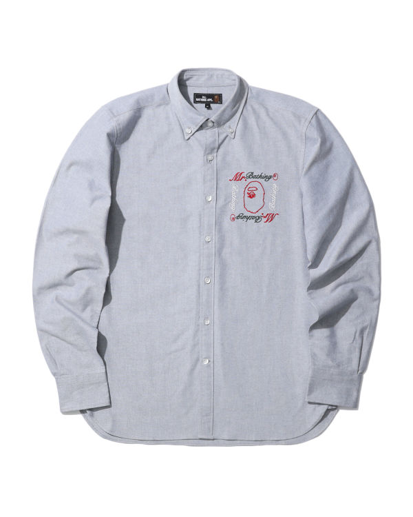 Mr. Bathing embroidered shirt