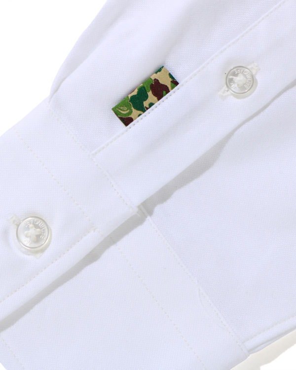 Mr Embroidery button-down shirt