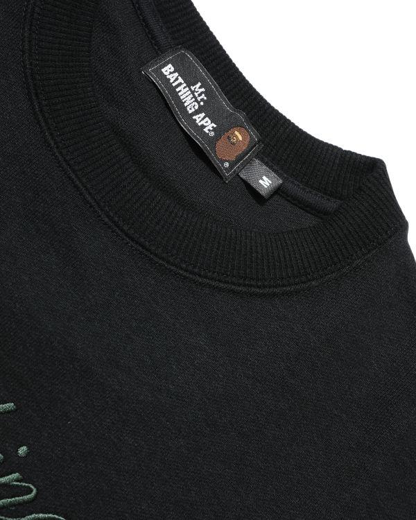 Mr Bathing Ape Embroidery sweatshirt