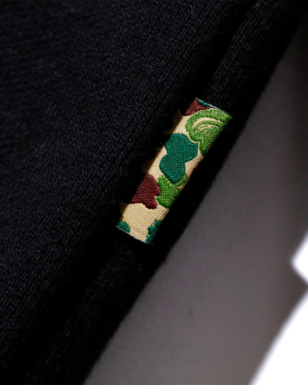 Mr Bathing Ape patched hoodie