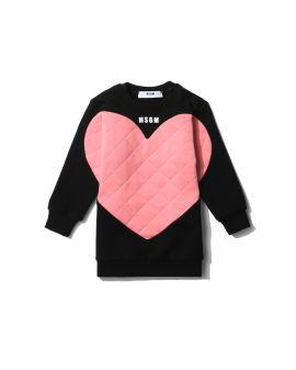 Topstitch heart dress