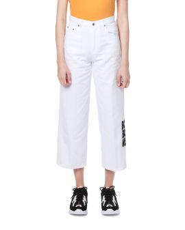 Boom Boom print jeans