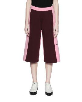 Colour block culottes