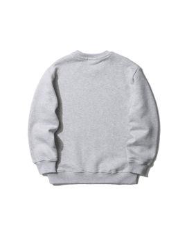 Paint brushed logo sweatshirt