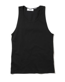 Lace and ribbon trim tank top