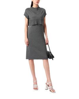Knit top and dress set