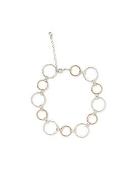 Eyelet link bracelet