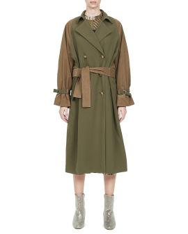 Contrast  overcoat