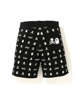 Monogram print shorts