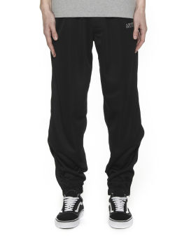 Logo embroidery track pants