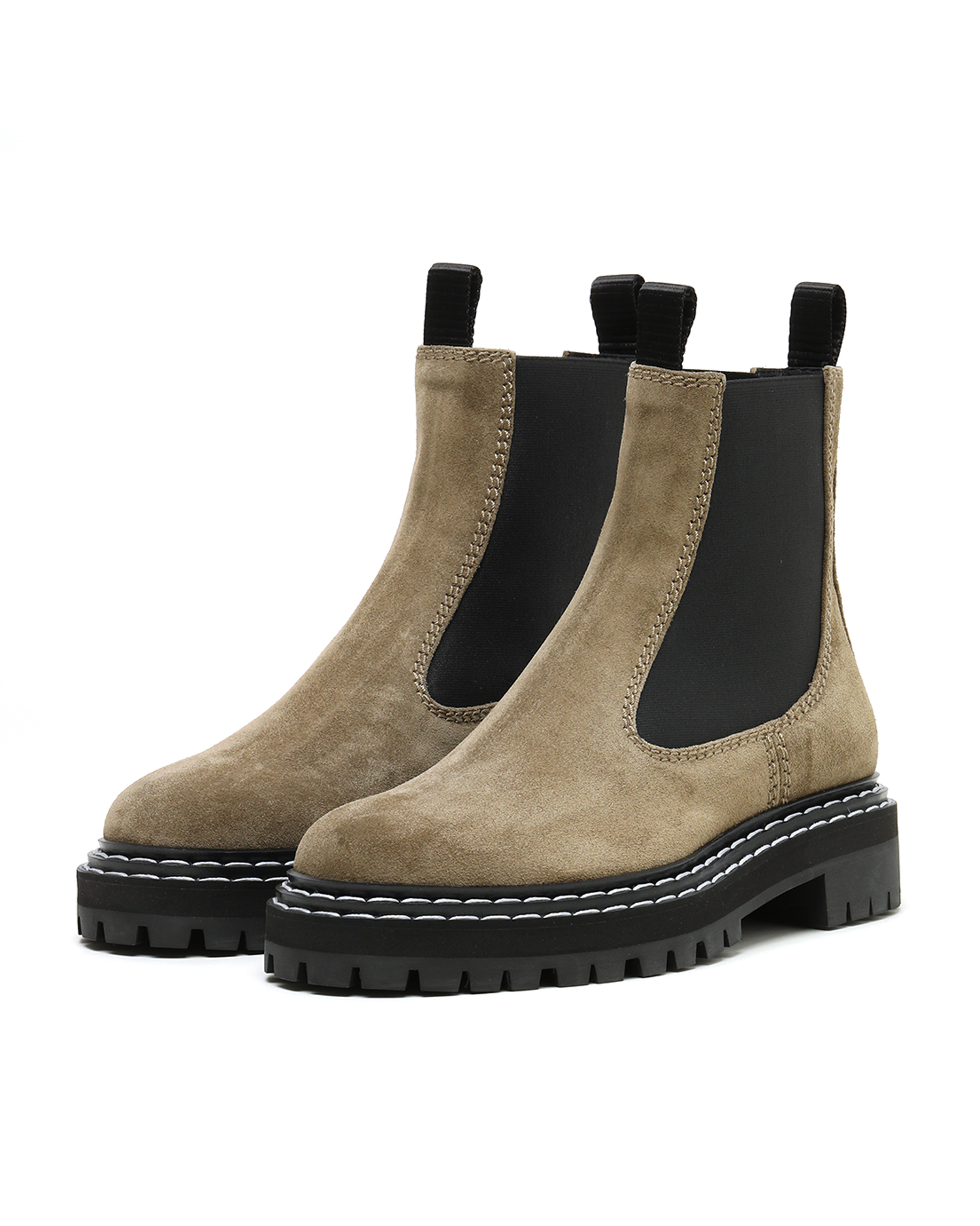 Combat Chelsea Boots