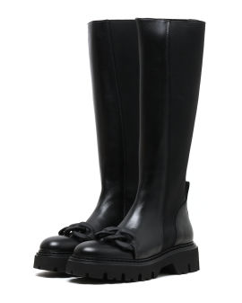 Chain long boots