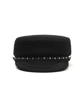 Embellished baker boy hat