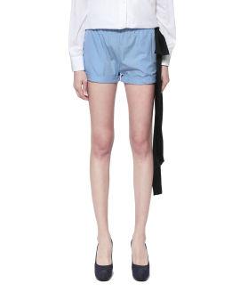 Side ribbon shorts