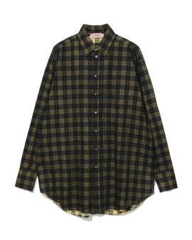 Layered printed shirt