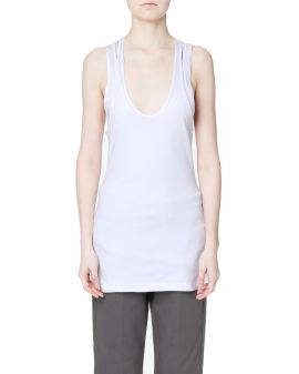 Scoop neck vest