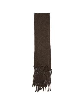 LEVI fluffy-knit scarf