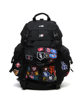 Logo patch backpack