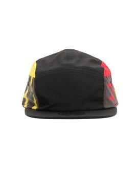 Bold logo print cap